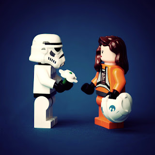 Cute Stormtrooper Lego Wallpaper