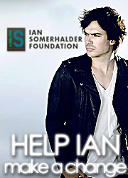 Ian Somerhalder Foundation!