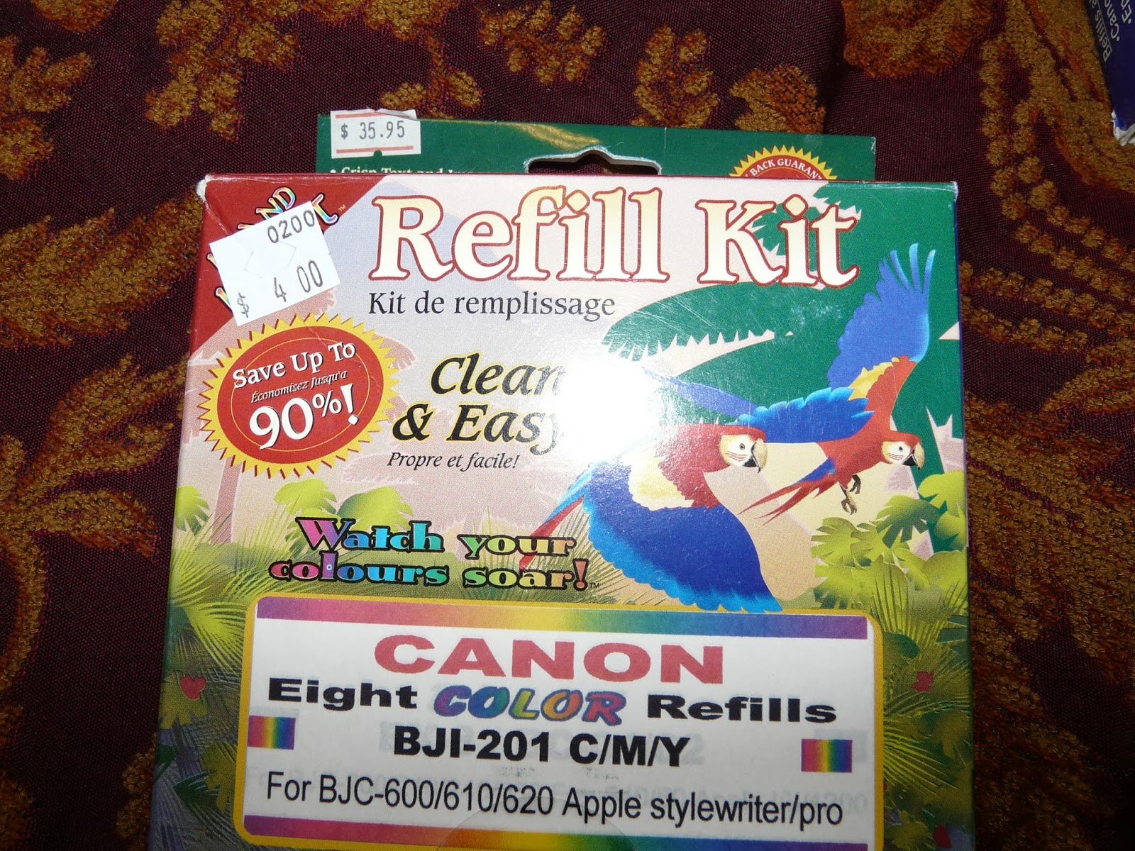 The secret is gratitude cheapest way to fill printer cartridges i started looking for refill kits at yard sales and second hand stores when i was going through my court cases over the years for my divorce solutioingenieria Image collections
