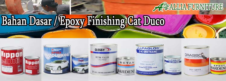 Bahan Dasar Finishing Furniture Cat Duco