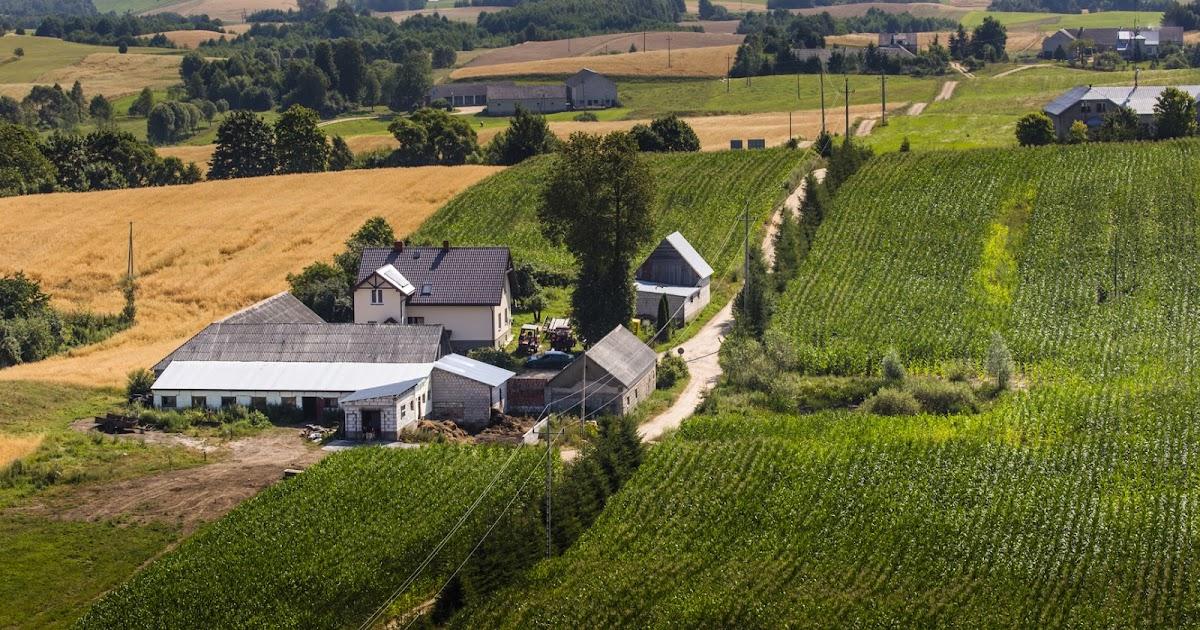 Banco de im genes casa en campo rural y cultivos - Casas rurales en el campo ...