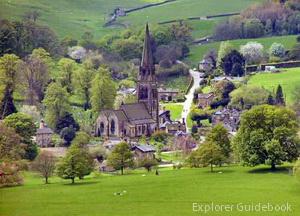 Desa Edensor Inggris