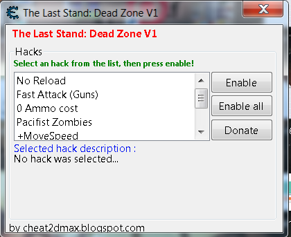 the last stand dead zone fuel hack cheat engine 3