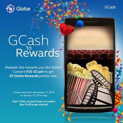 gcash to globe rewards points