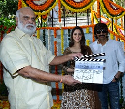 Bengal Tiger Movie Opening Photos