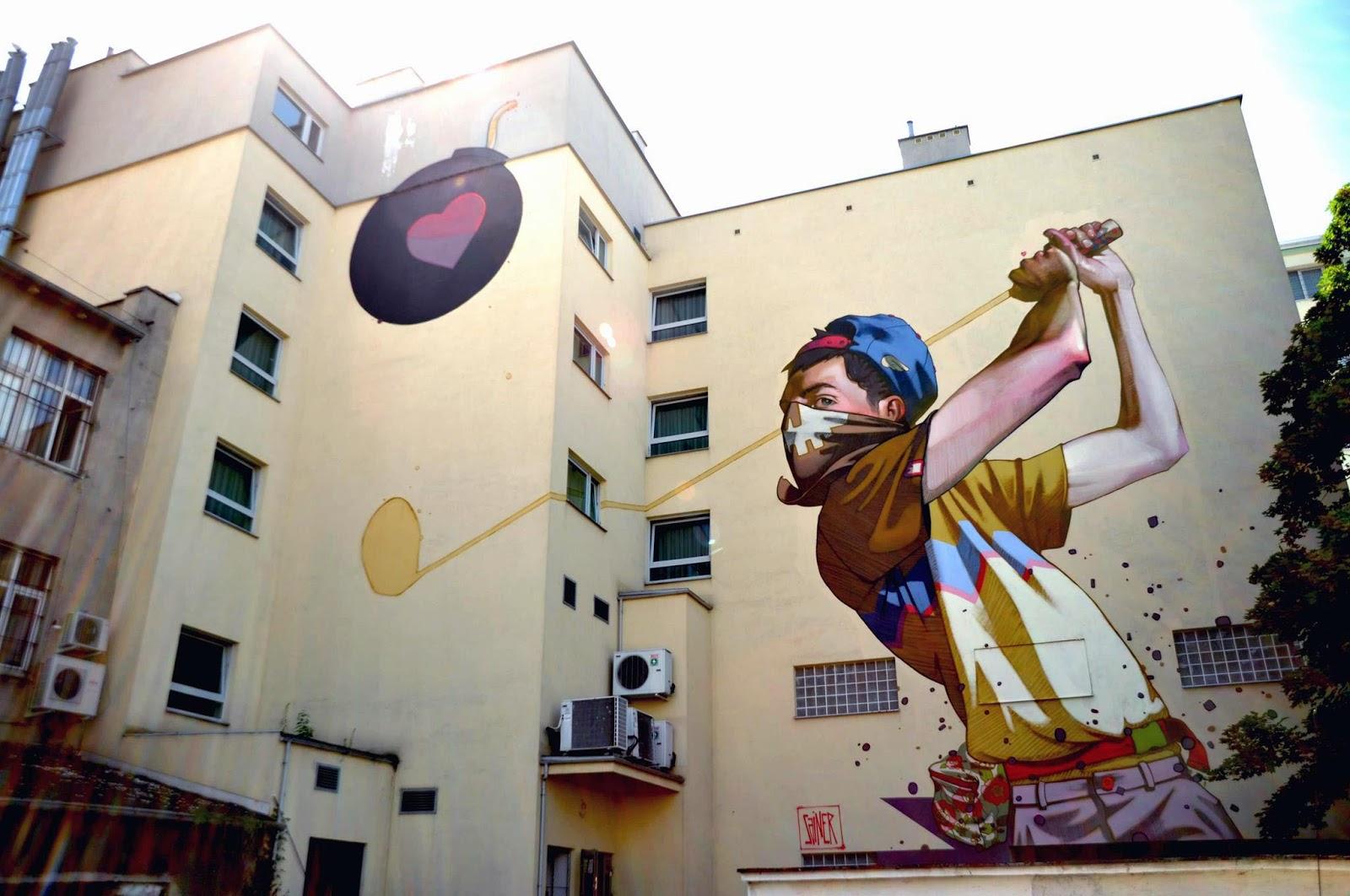 Sainer New Mural In Gdynia Poland Streetartnews