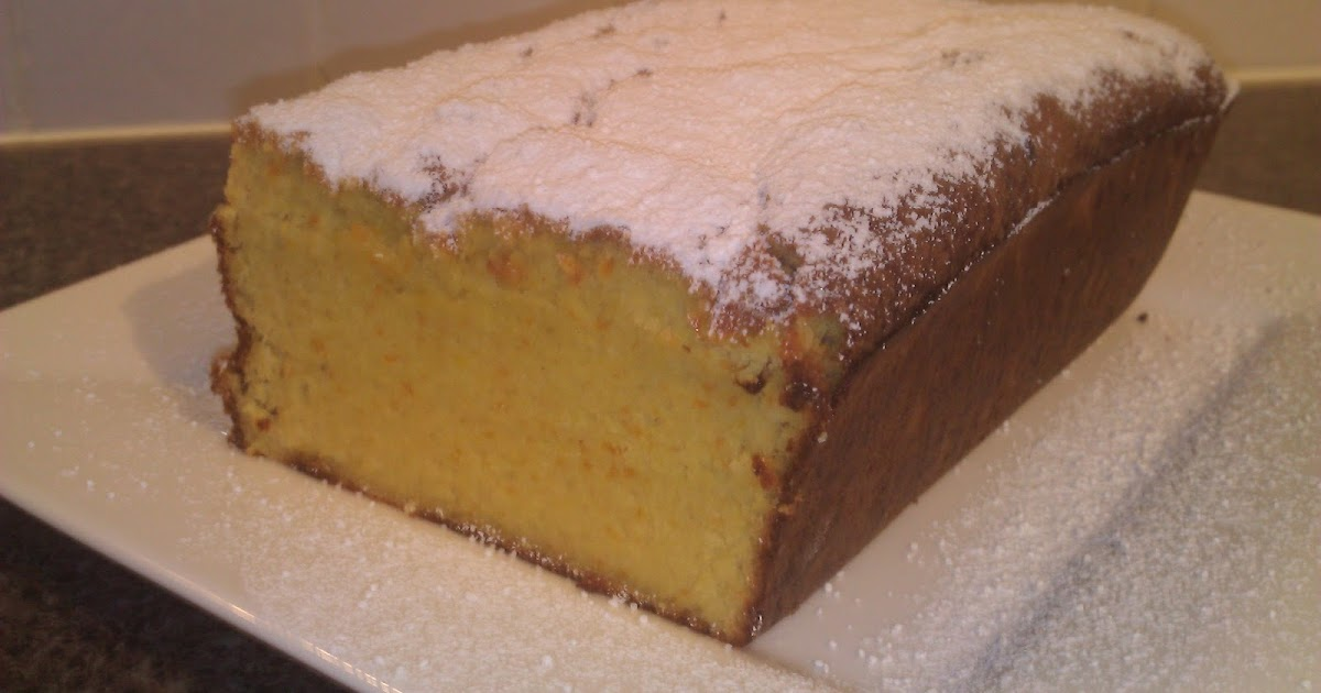Sbs Orange And Almond Cake