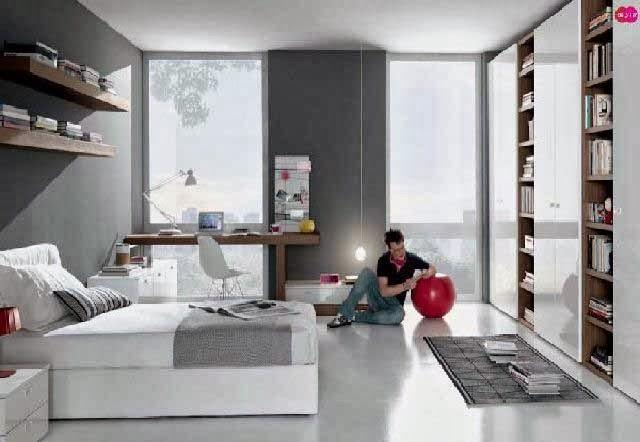 Para remaja biasanya menyesuaikan bentuk dan desain kamarnya dengan keadaannya yang menja Inilah Desain Kamar Tidur Untuk Remaja Terbaru 2013