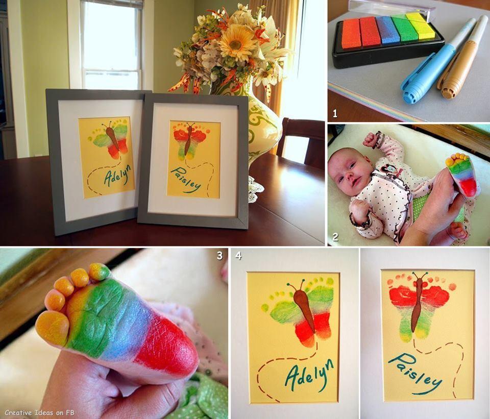 Сделать подарок от ребенка бабушке своими руками