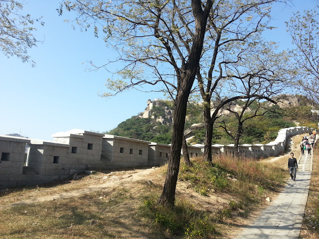 Recontructed Seoul wall