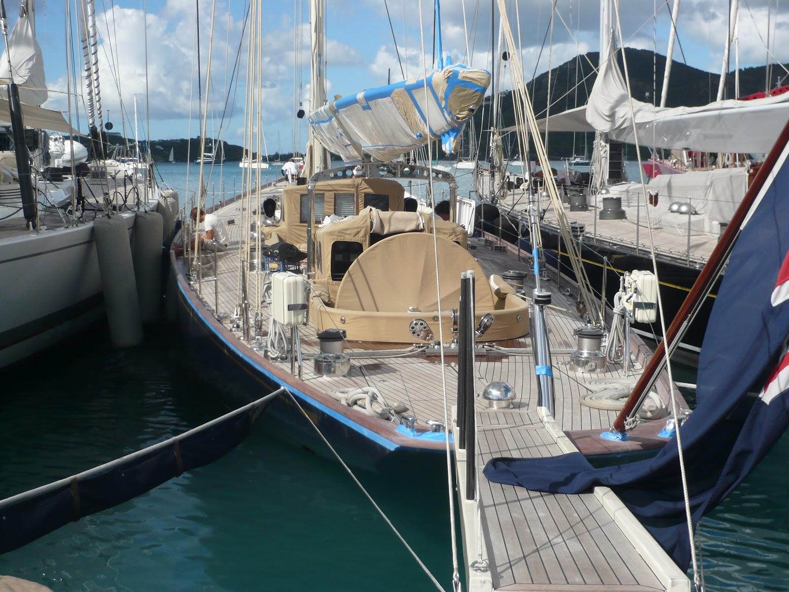 Valsheda, a completely restored original J-Boat
