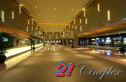 daftar alamat bioskop 21 Bandung