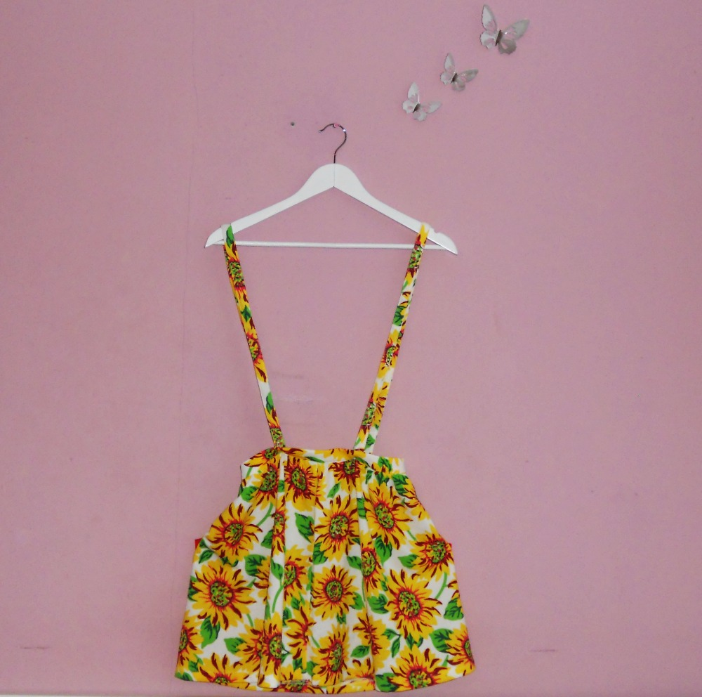Summer Fashion Haul Sunflower LookBook Store Skirt
