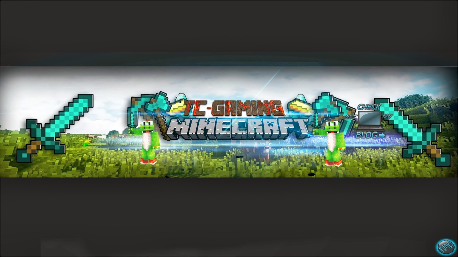 Download image minecraft youtube channel art banner pc android