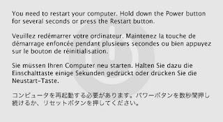 Cara Mengatasi Kernel Panic Di Mac OS X 10.8 Mountain lion, 10.9 Mavericks, 10.10 Yosemite, 10.11 el capitan