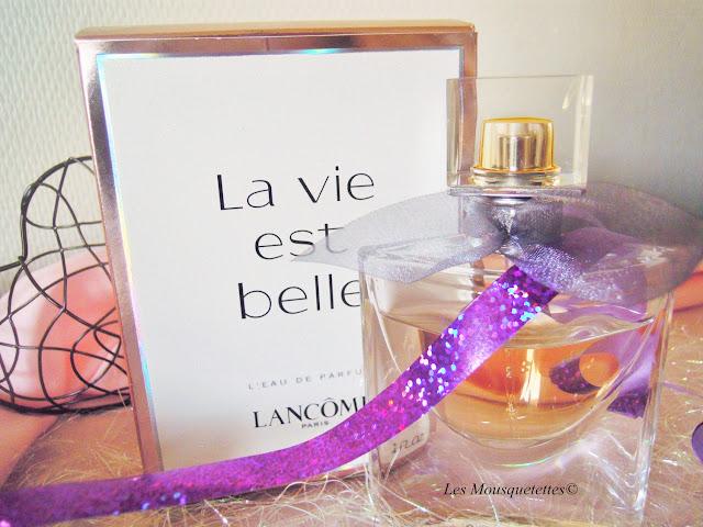 La vie est belle en Lancôme - Les Mousquetettes©