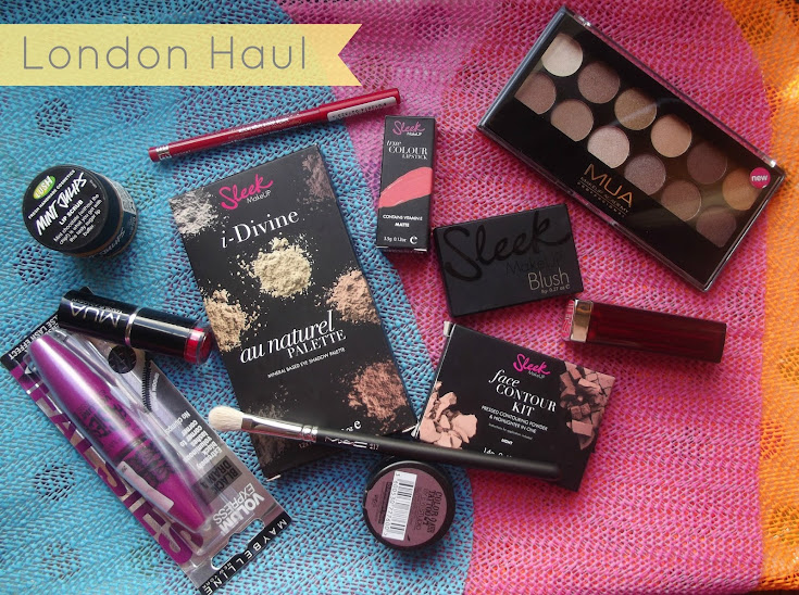 London Beauty Haul