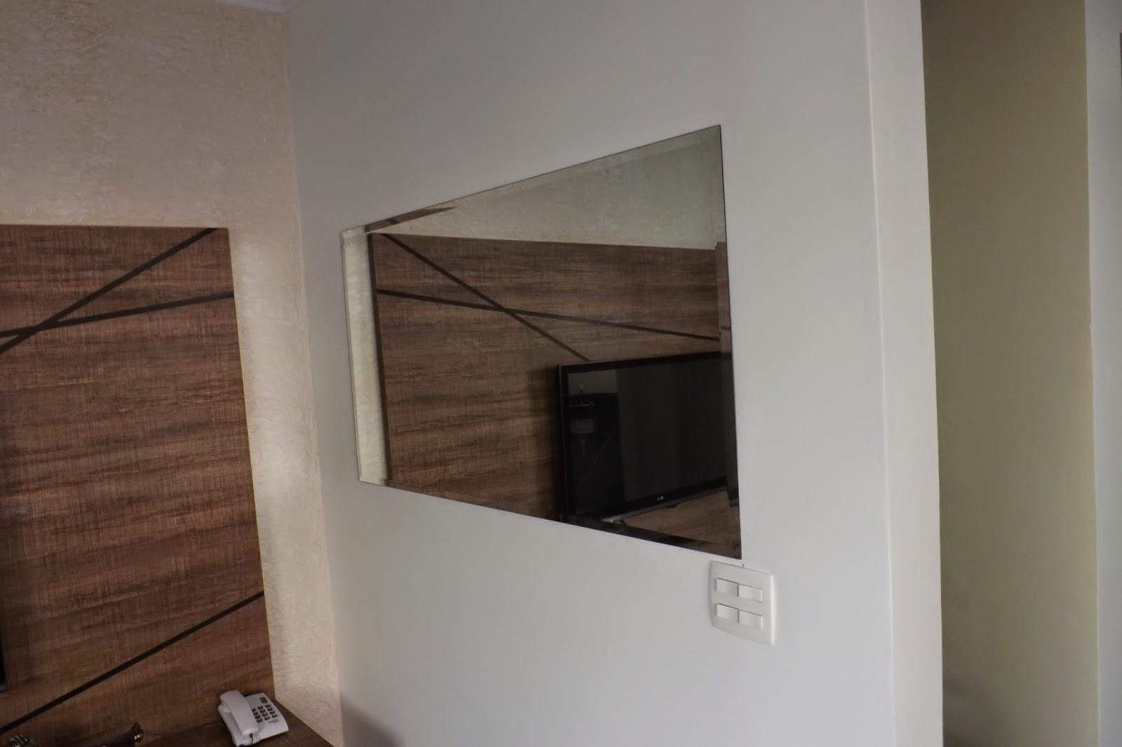 espelho instalado