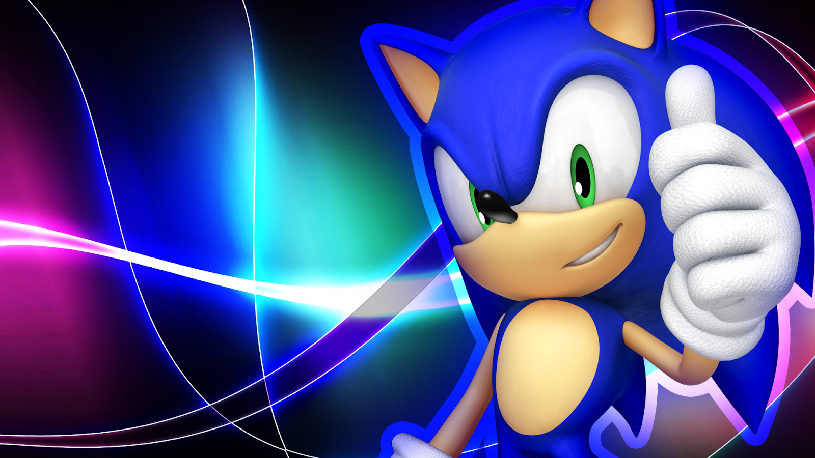 wallpaper sonic blue - photo #20