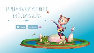3D App mòbil lali rondalla cantautora infantil