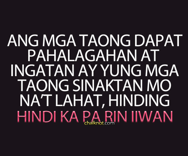 Love Quotes With People Pictures Tagalog : Tagalog Love Quotes Love Quotes