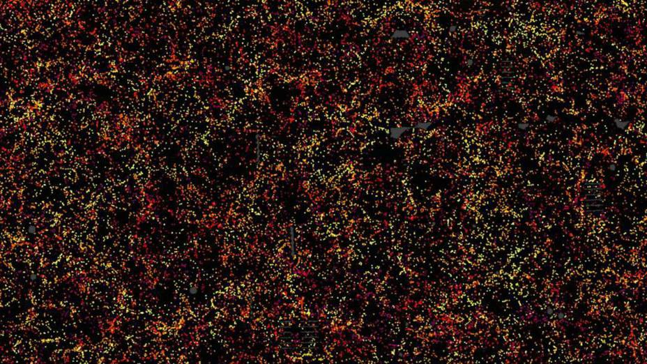 Mapa tridimensional del Universo