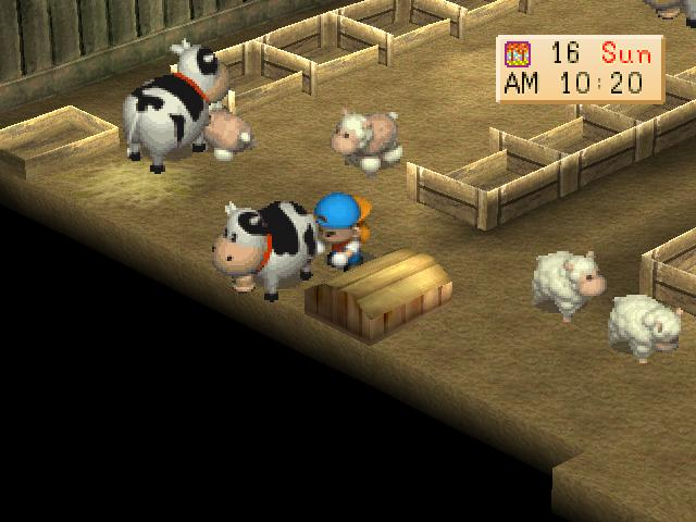download save game harvest moon back to nature psx pc