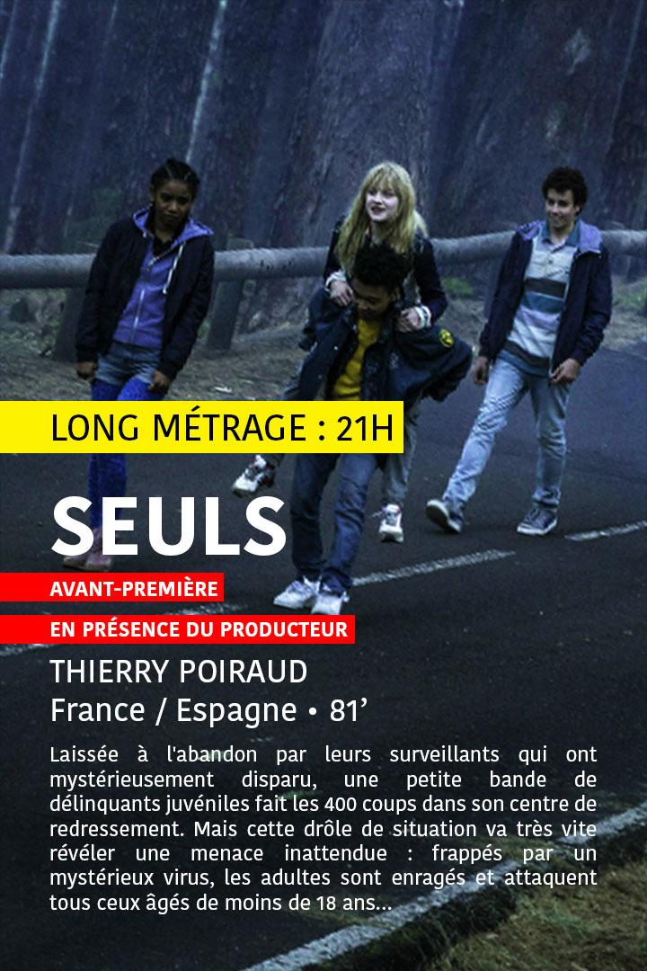 Festival MEME PAS PEUR 2016 - Samedi - Séance Long Métrage 1