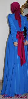 nisa moda 2014 tesett%C3%BCr Elbise modelleri39 nisamoda 2014, 2013 2014 sonbahar kış nisamoda tesettür elbise modelleri
