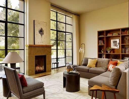 Desain ruang keluarga minimalis 2