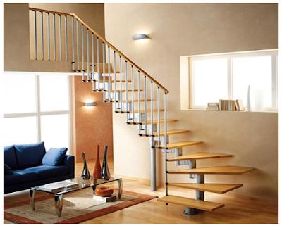 interior rumah 2 lantai sederhana