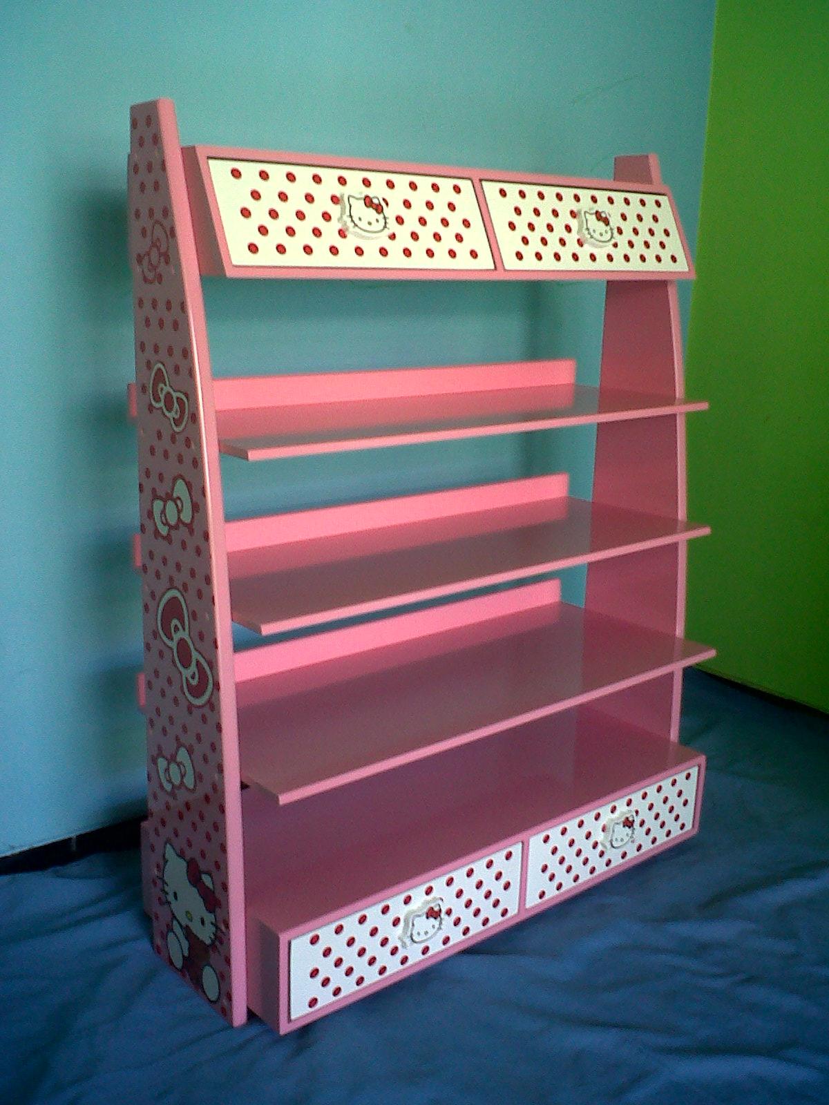 Lemari Sepatu Anak Serbaguna Daftar Harga Terkini Dan Rak Amazing Jilbab 1299 Gram Hello Kitty