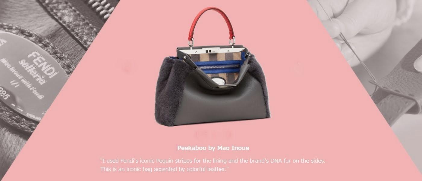 Moda y Caridad: Fendi lanza bolsos con diseños exclusivos a beneficio.
