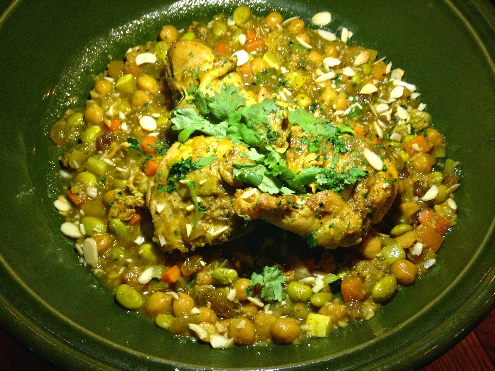 Roasted Chicken Tagine