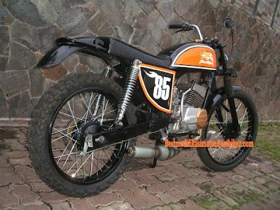 Modifikasi Yamaha RX 100 1979 - Gambar Modifikasi Motor Terbaru