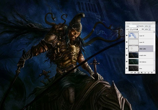 Making of Eastern Dragon Rider