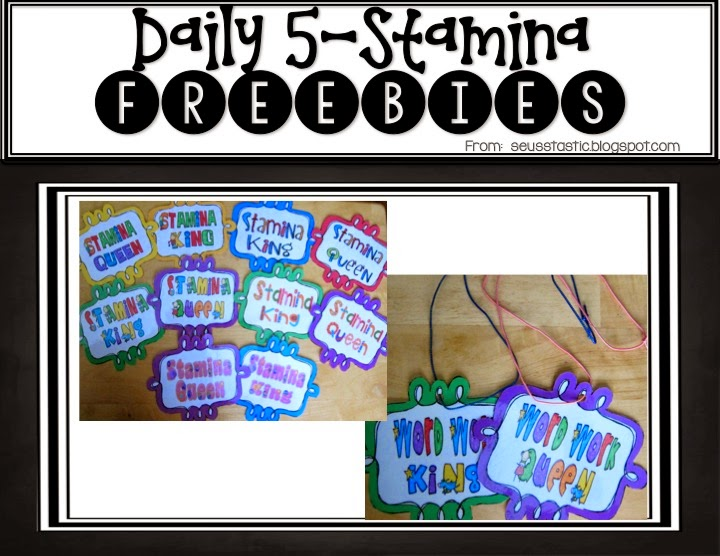 http://www.teacherspayteachers.com/Product/Stamina-Builders-258389