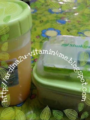 set Migthy 3 Gems, sarapan lengkap, ESP, PD, Mealshake