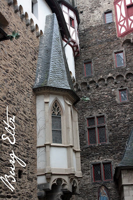 Courtyard at Burg Eltz - The Tipsy Terrier blog