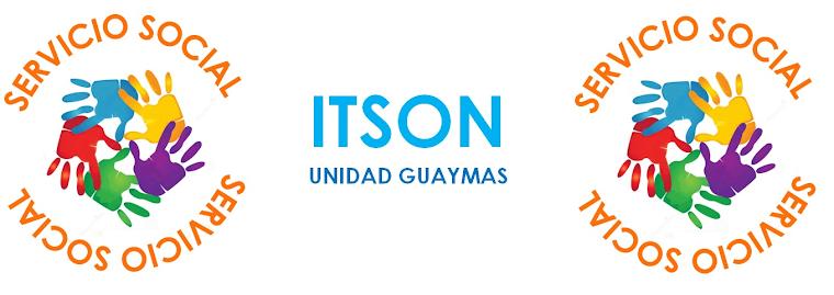Servicio Social ITSON Unidad Guaymas
