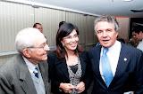Foto Dr. Calheiros, Dra. Vólia e Dr. Marco Aurélio