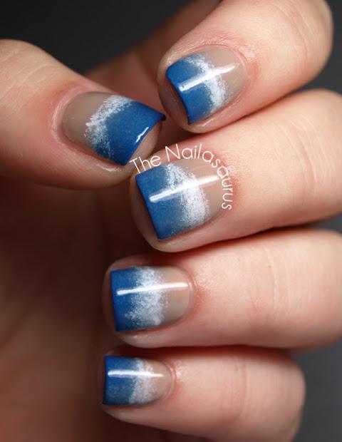 beauty and beach nail art