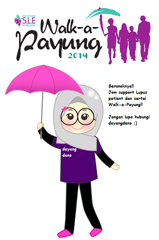 Join Us! Walk-a-Payung 2014!
