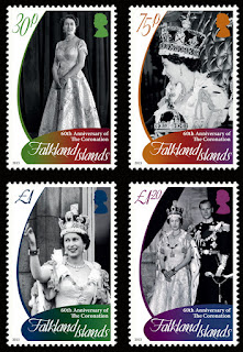 Falkland Islands - Coronation - www.pobjoystamps.com