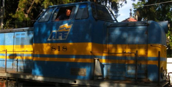 Tren AFE Uruguay