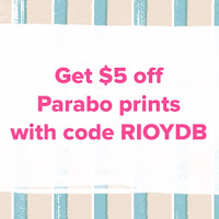Get $5 off Parabo Prints!