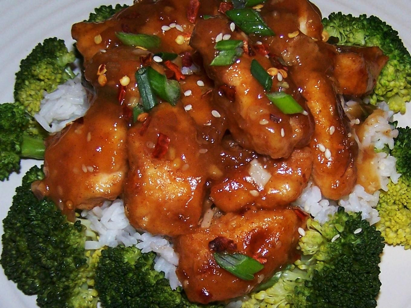 Chinese Food General Tso Chicken 1704 · 2272