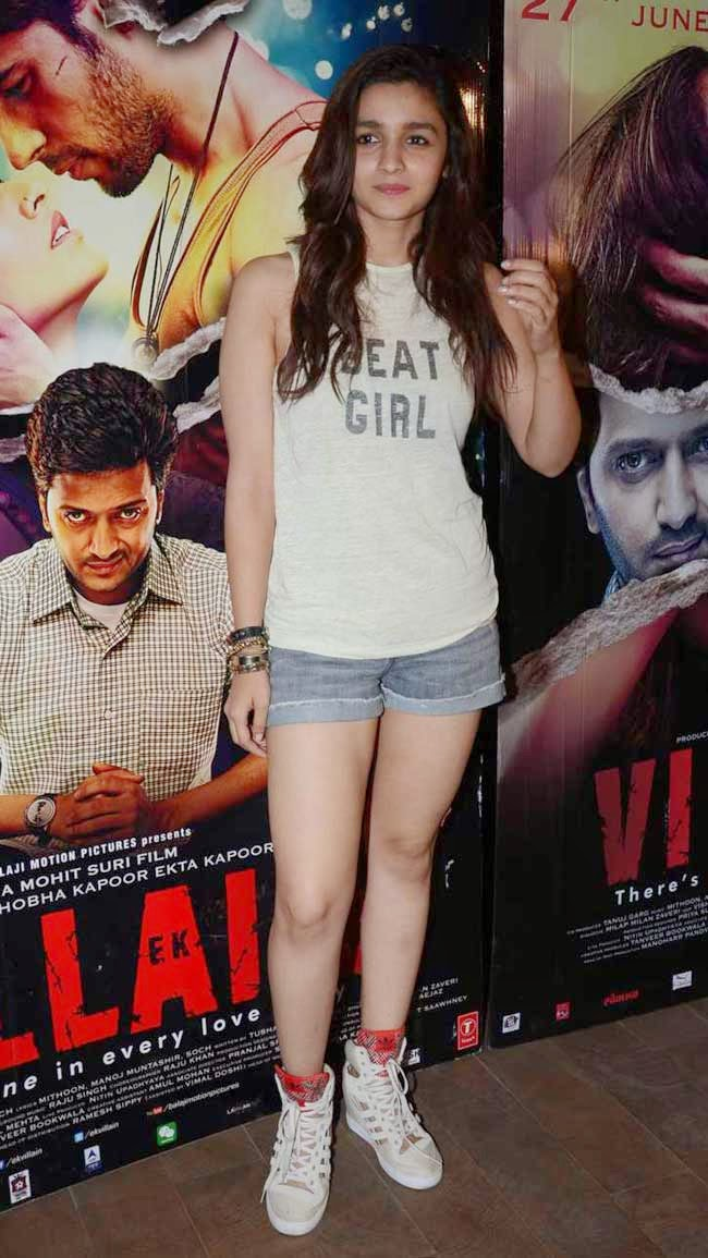 Alia Bhatt at 'Ek Villain' Movie Special Screening