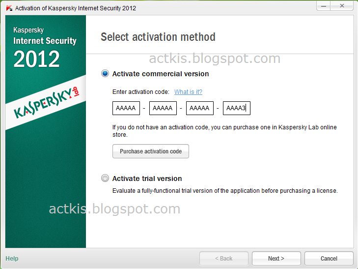 select activate commercial version and enter the activation license