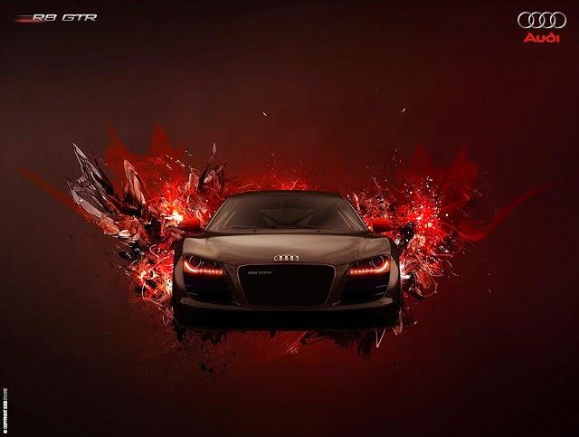 hình nền siêu xe auri R8 đẹp